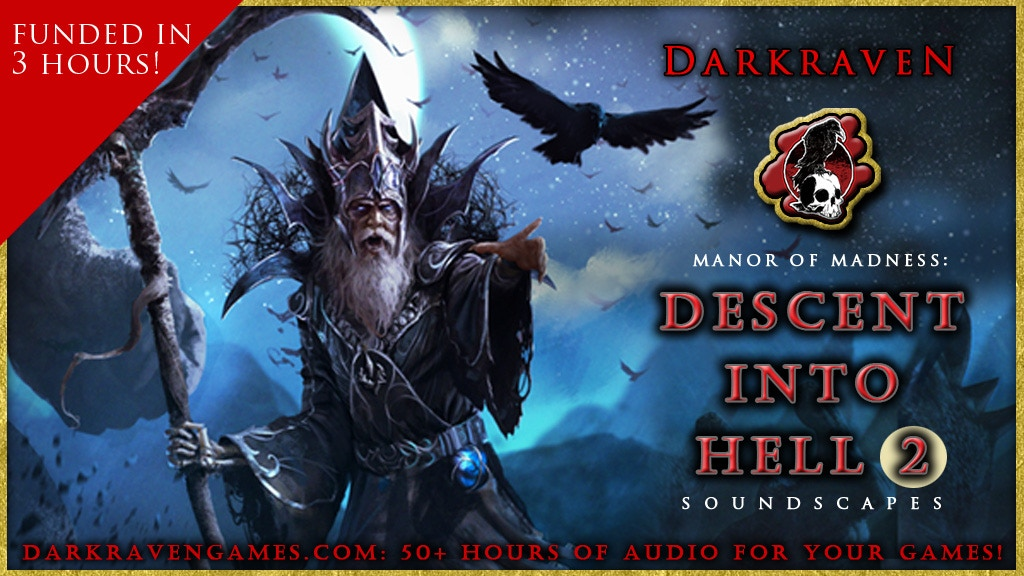 Descent Into Hell 2 - Dungeon Soundscapes by Darkraven project video thumbnail