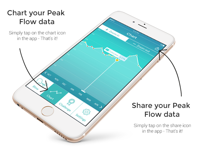 Smart Peak Flow Asthma Control In Your Pocket By Smart Respiratory