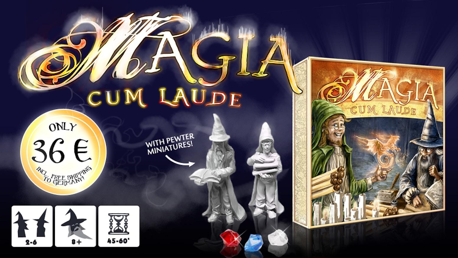 Magia cum Laude by Conrad Hamel » Magic Stones — Kickstarter