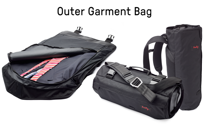Rolls up into a Messenger or Backpack, color & fabric options available