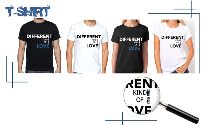 T-shirt offered in two styles. The choice is yours!