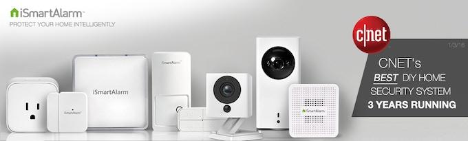 the 1st motion tracking diy smart home security camera by ismartalarm kickstarter. Black Bedroom Furniture Sets. Home Design Ideas