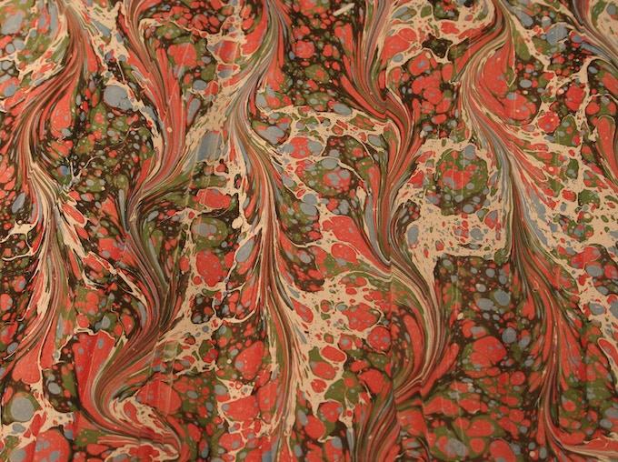 Ebru pattern. Image: Terry Underwood Evans/Shutterstock.