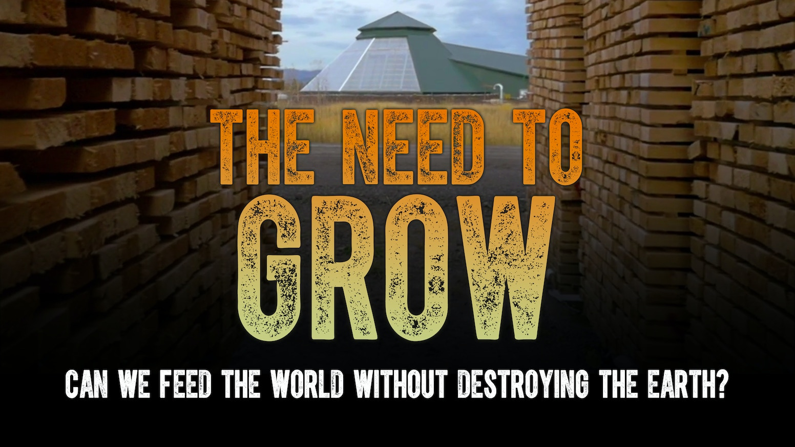 The Need To GROW is a feature film following innovators of low and high tech solutions to help localize food and regenerate our planet's dying soils.