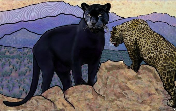 Bold Black Jaguar