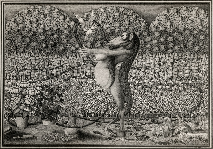 """The Influence of Slander"" by Herbert Crowley"