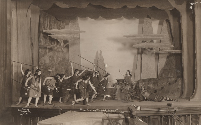 """Kairn of Koridwen"" set design by Herbert Crowley"