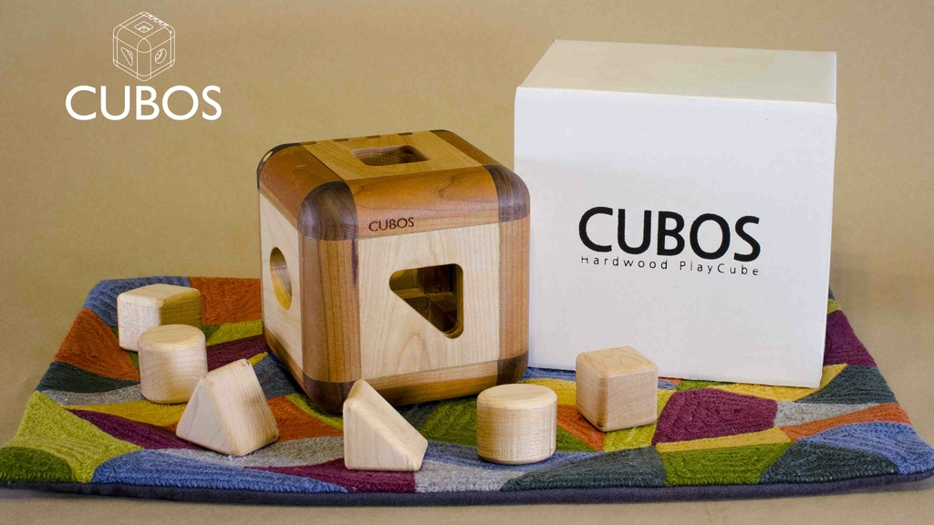 CUBOS hardwood shape sorter (Made in Canada) project video thumbnail