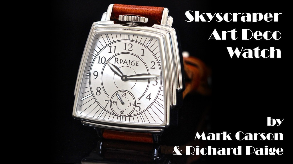 Skyscraper Art Deco Watch project video thumbnail