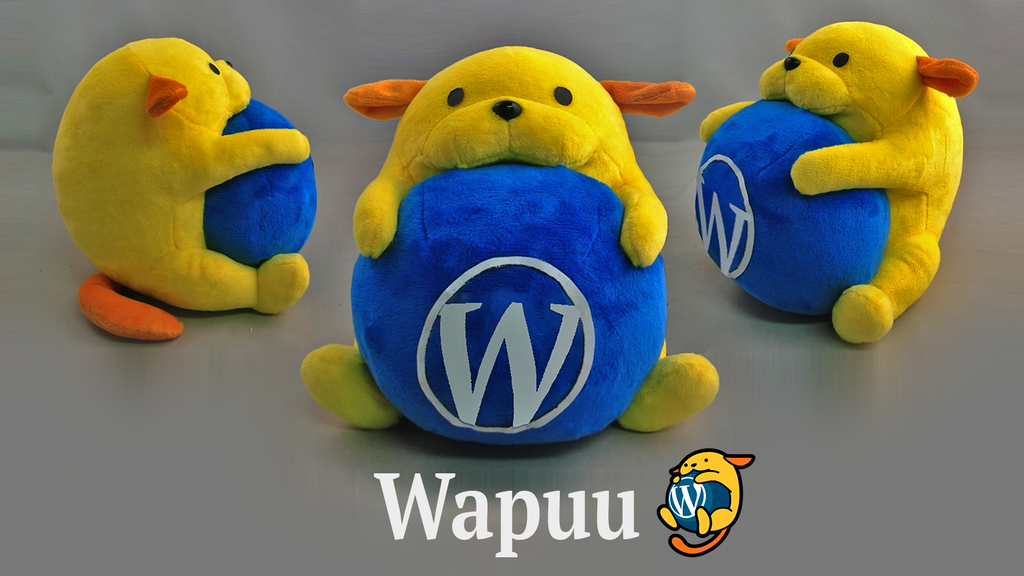 Project image for Plush Wapuu Collectible (unofficial WordPress mascot) (Canceled)