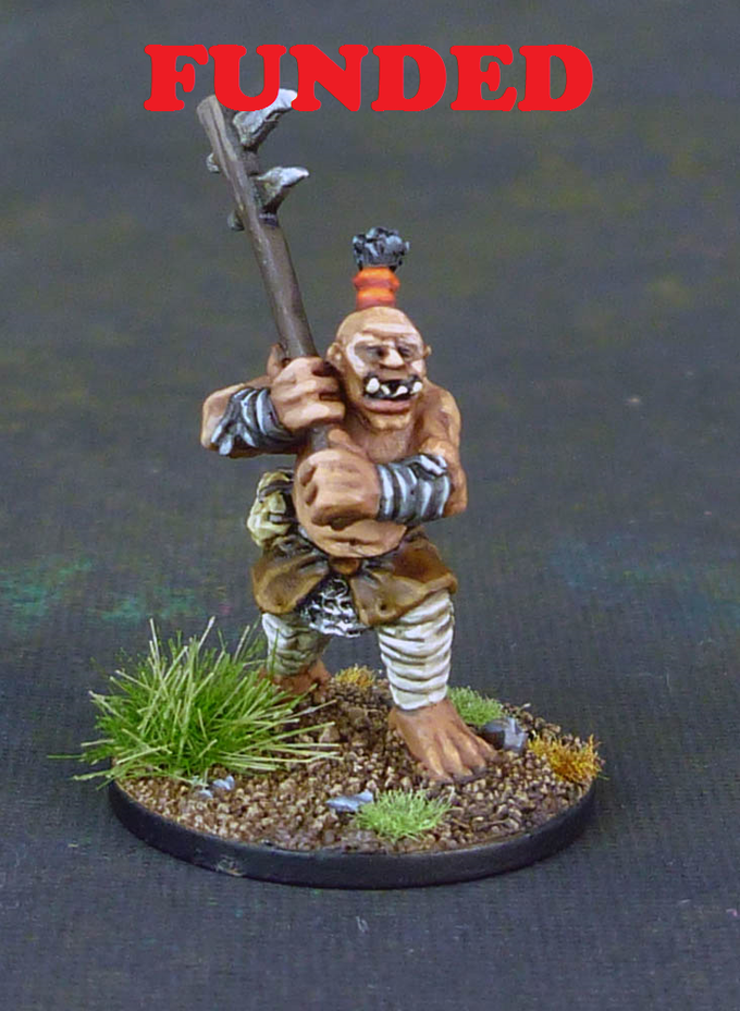 FUNDED! Ogre Warriors
