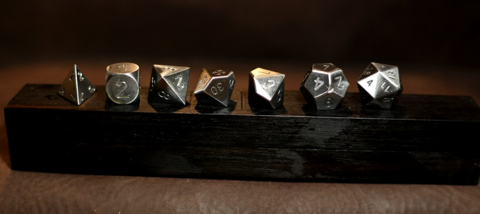 Campo del CIELO Meteorite and Ebony Dice Base One Bundle
