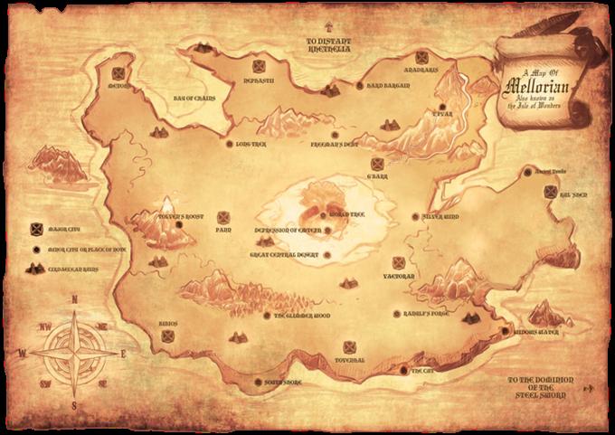 The land of Mellorian