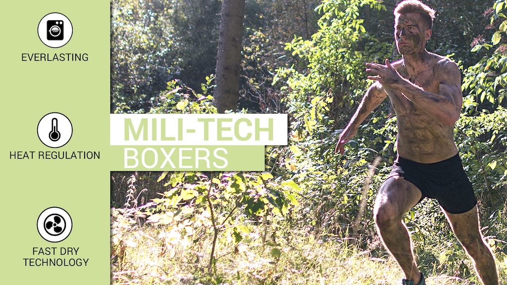 Mili-Tech Boxers - Underwear that will follow you for life project video thumbnail