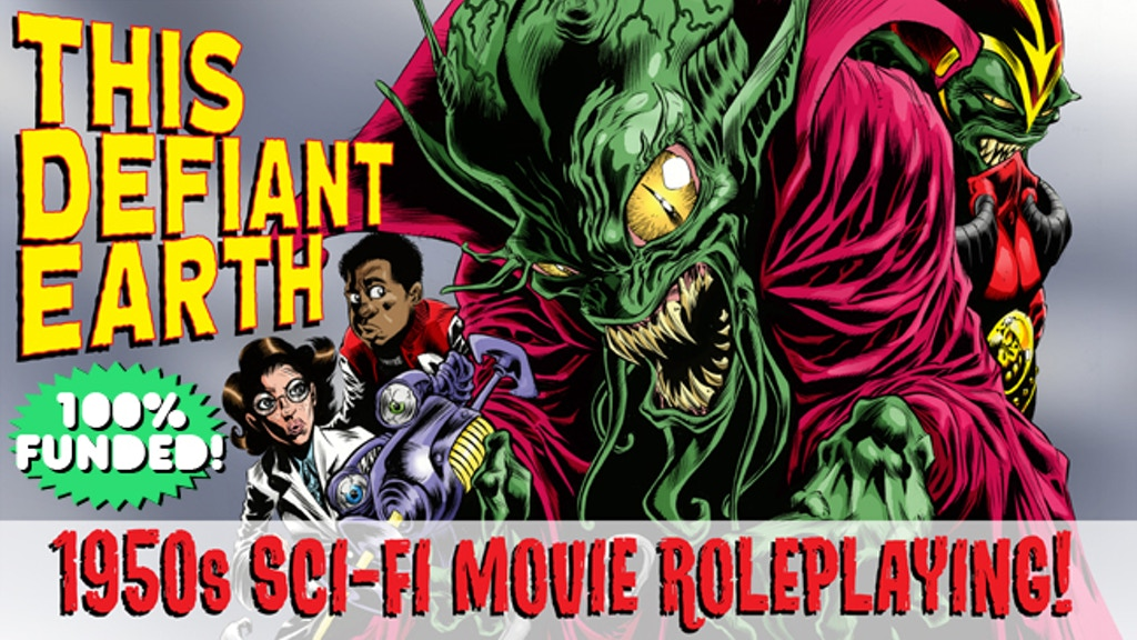 THIS DEFIANT EARTH: 1950s Sci-Fi Movie Roleplaying! project video thumbnail