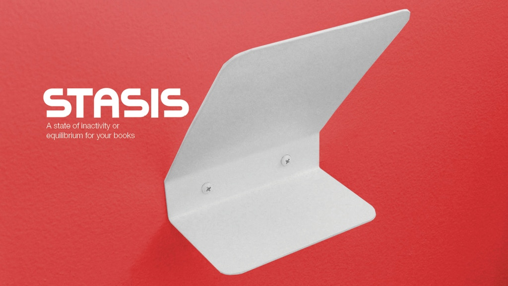 Stasis: a wall-mounted bookmark project video thumbnail