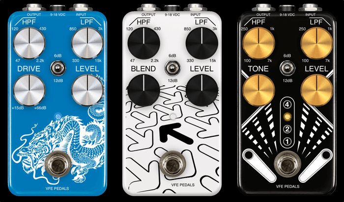VFE Pedals new guitar pedal lineup + educational kit by Peter Rutter
