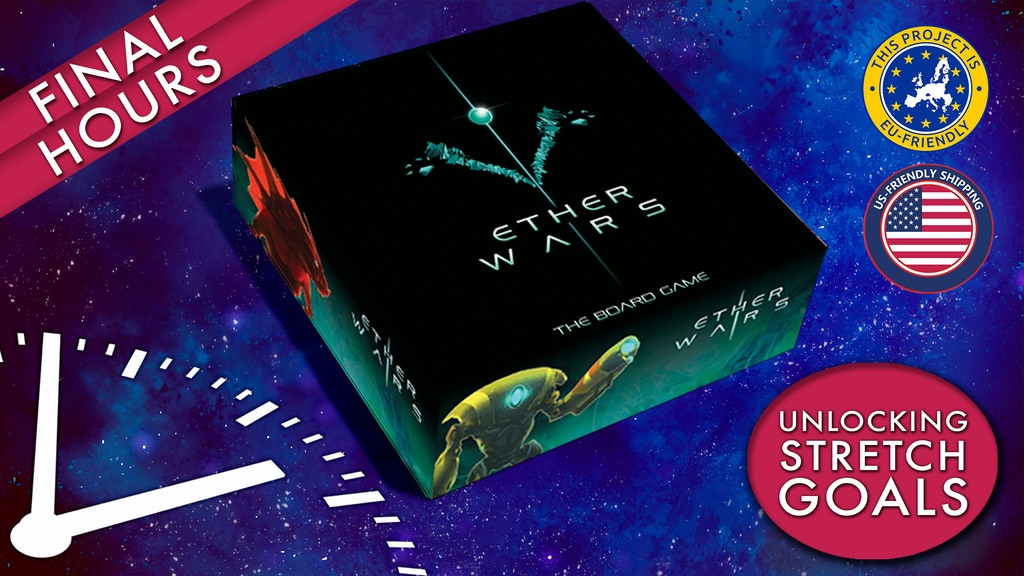 Ether Wars: Sci-Fi strategic dice placement & rolling game project video thumbnail