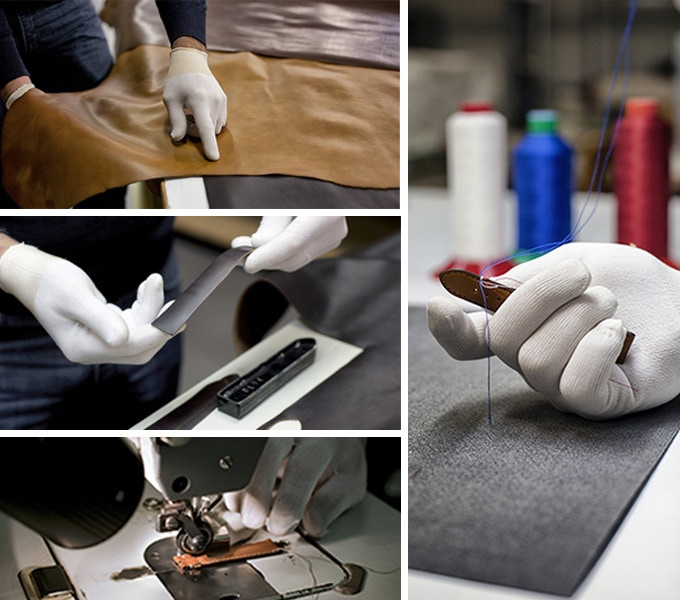 Our straps are handmade in Besançon, France.