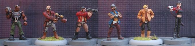6 Figure Set