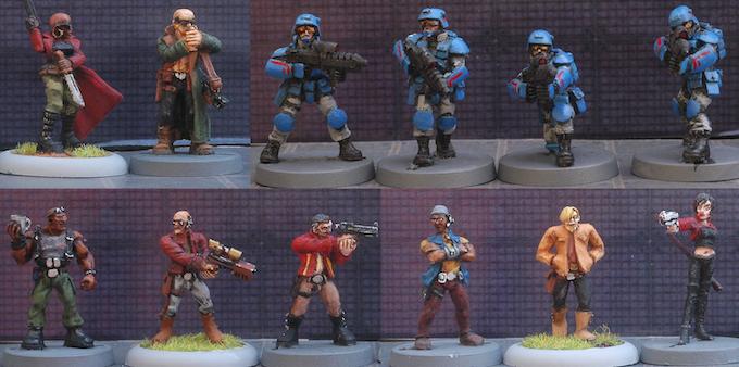 12 Figure Set