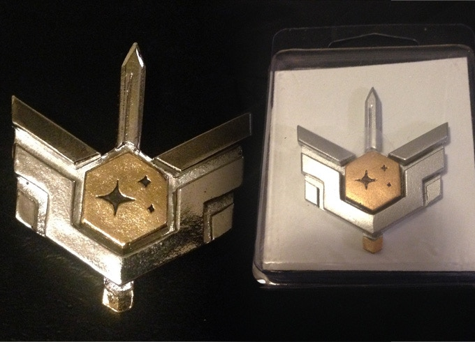 Metal and Resin Coalition Badge