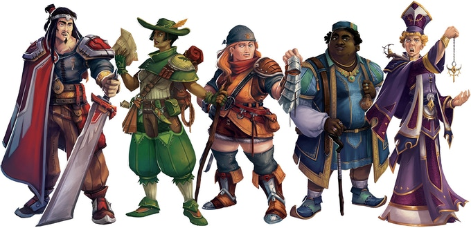 The Five Guild Masters