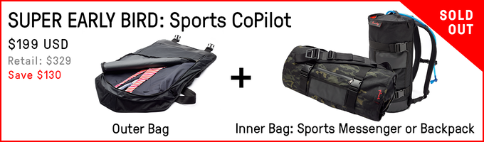 db897591c7 Henty CoPilot  First Two Bag System for Commuting   Travel by Henty ...