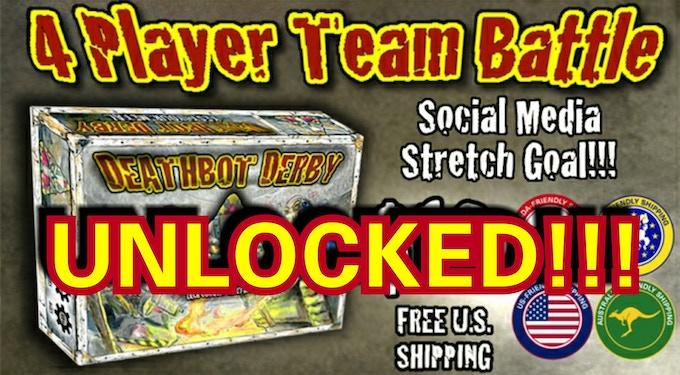 4 Player Team Battle Mode Unlocked