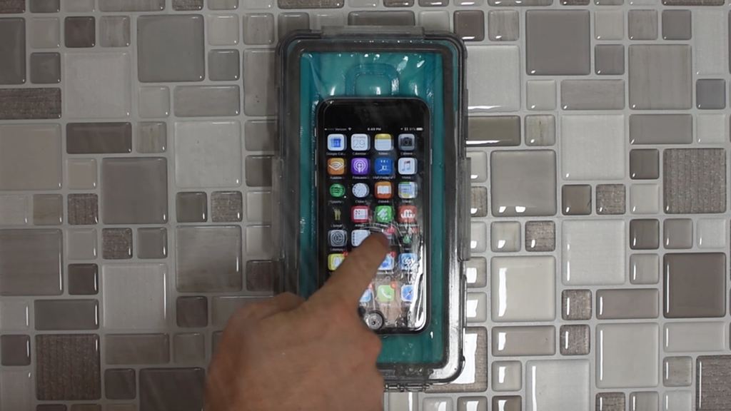 Shower Case: Waterproof Smartphone Holder with Wall Mount project video thumbnail