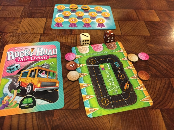 Rocky Road a la Mode from Green Couch Games! by Jason
