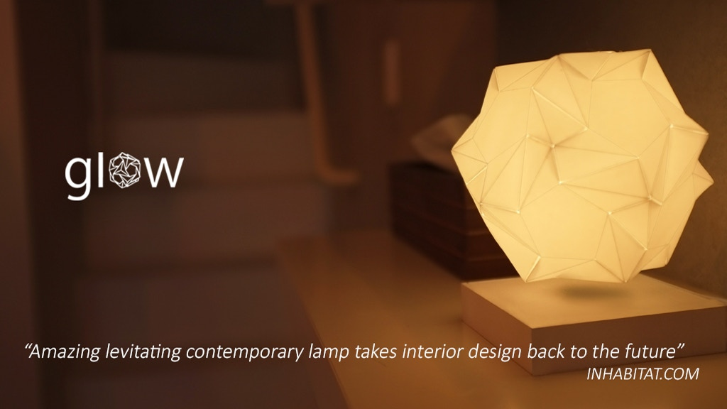 Glow: Contemporary Levitating Lamp project video thumbnail