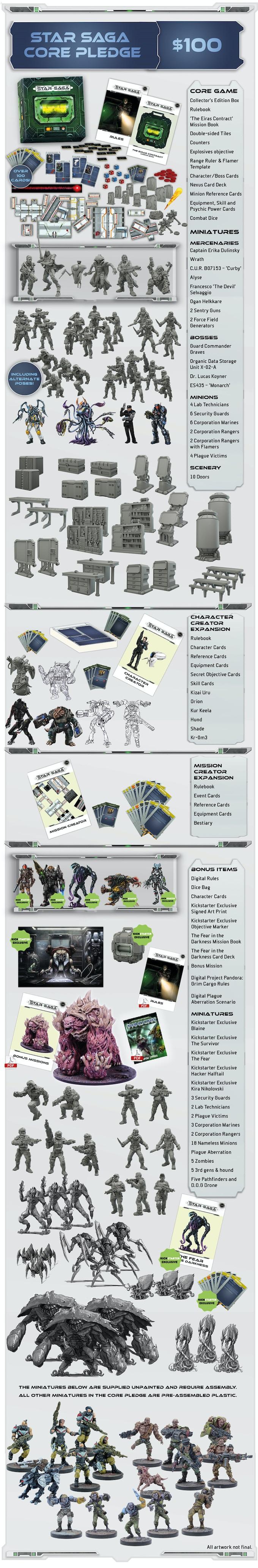 Star Saga - The Sci-fi Dungeon Crawler by Mantic Games