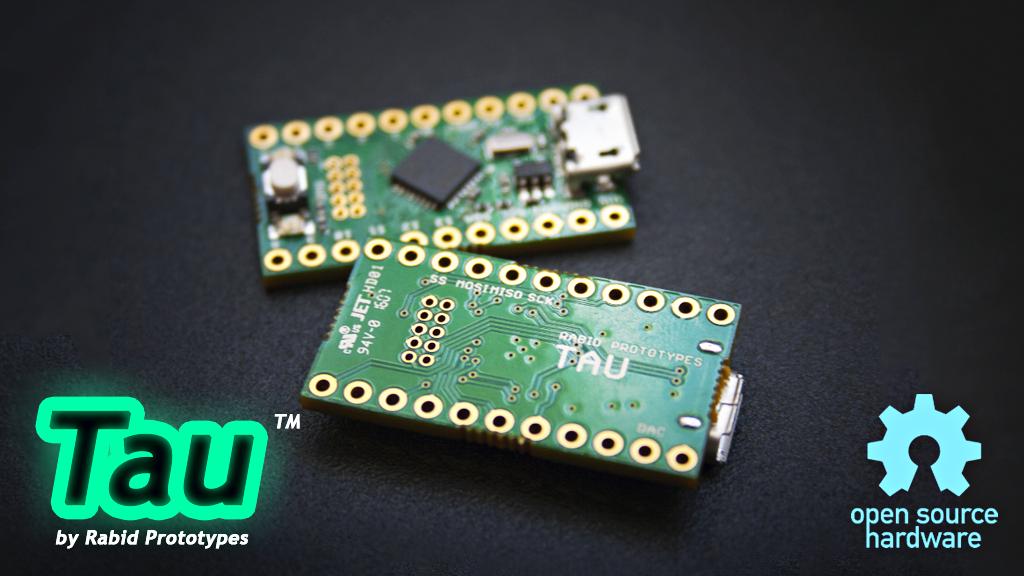 Tau: The tiny 32-bit Arduino Zero compatible! project video thumbnail