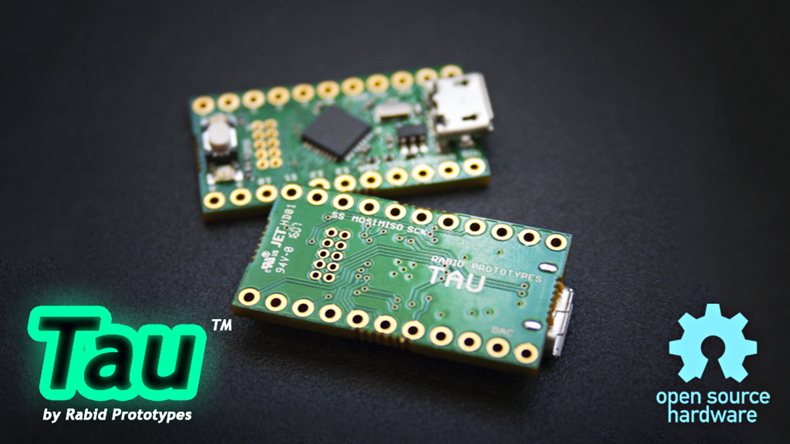 Featuring a 32-bit 48MHz ARM Cortex M0+ w/ 16K of ram the Tau packs a ton of power in a tiny package!