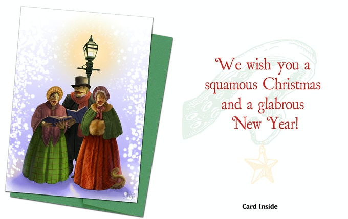 Cthulhu Card 5 - The Innsmouth Carollers
