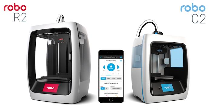 Robo C2 and Robo R2 Smart 3D Printers by Robo — Kickstarter