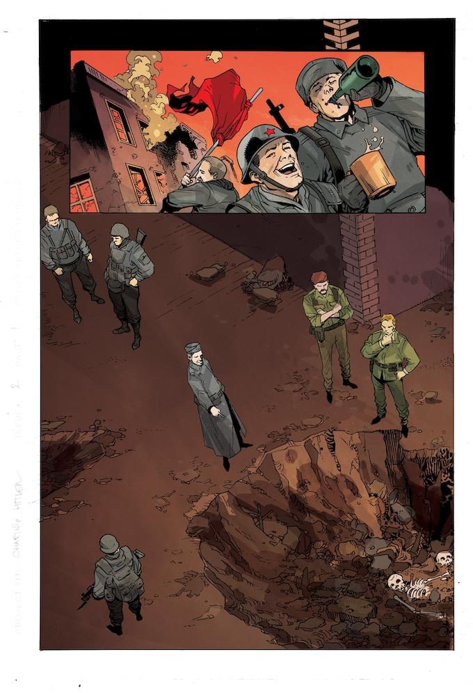 Chasing Hitler #2 page 1