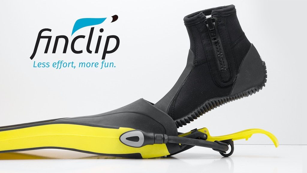 FINCLIP, don/doff your scuba diving fins the easiest way project video thumbnail