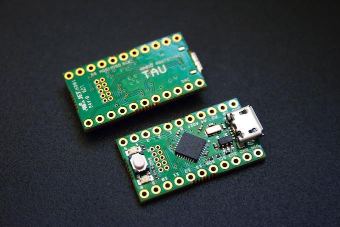 Tau the tiny bit arduino zero compatible by rabid