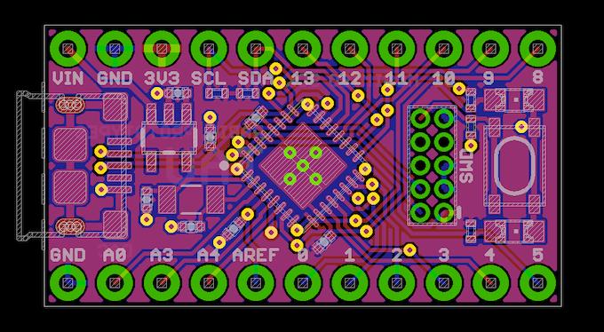 The Tau's PCB