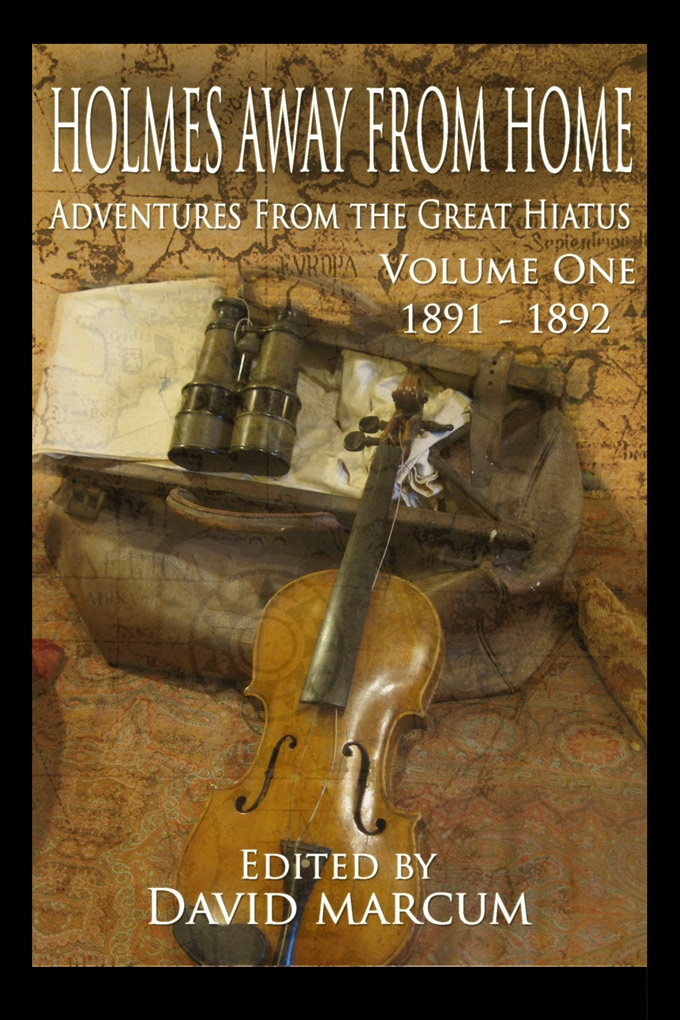 Cover of the first Volume of Holmes Away From Home