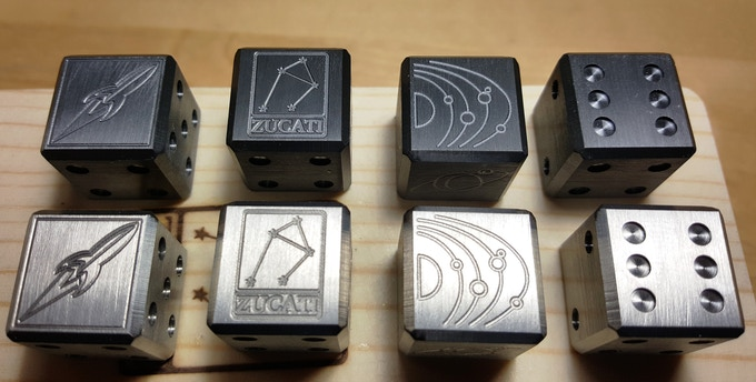 Zirconium shown with the Blackend version - Available now in the YIN/YANG pledge levels.