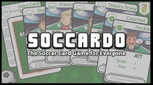 Soccardo - The Soccer Card Game for Everyone