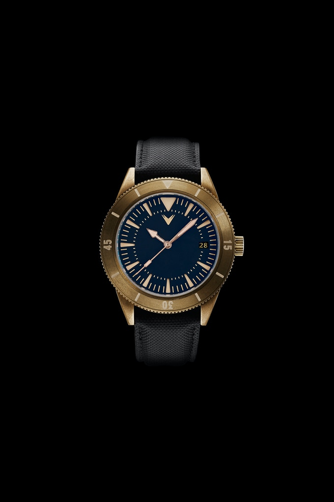 Ventus : Mori Brass Diver 300m by Ventus Watches — Kickstarter