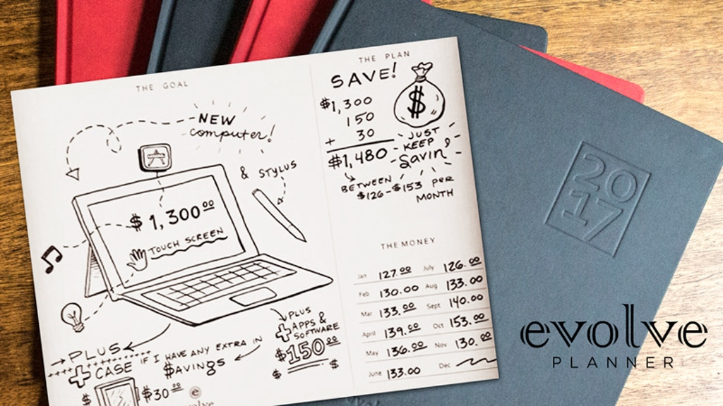 Evolve Planner: Manifest Your Dreams with Financial Success project video thumbnail