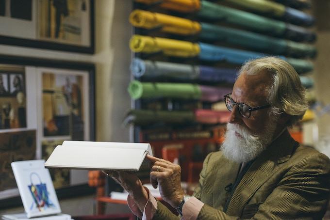 Bookbinder, Paul Vogel. Photo: Brian Kelley