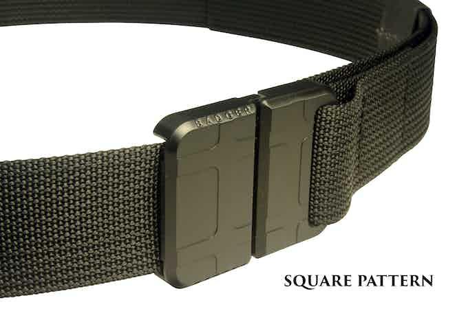 Badger Buckle - Square Pattern