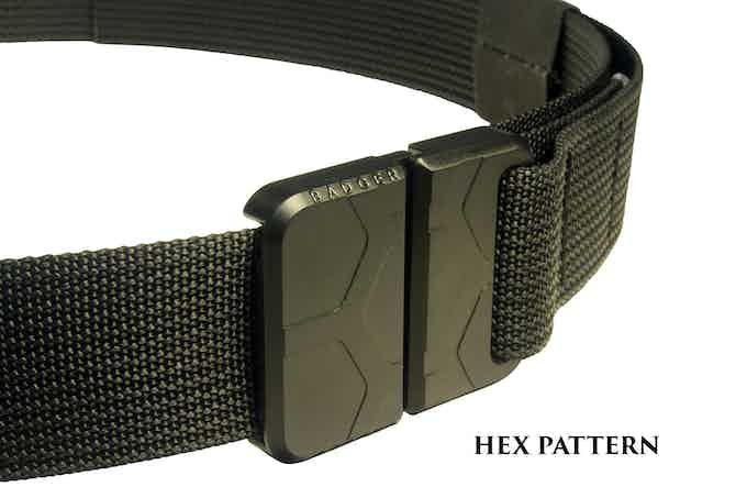 Badger Buckle - Hex Pattern