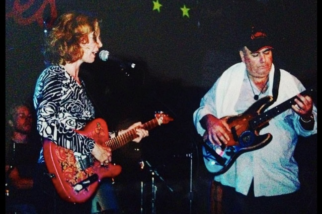"""Me and Clifford Antone """"Play the Blues!"""""""